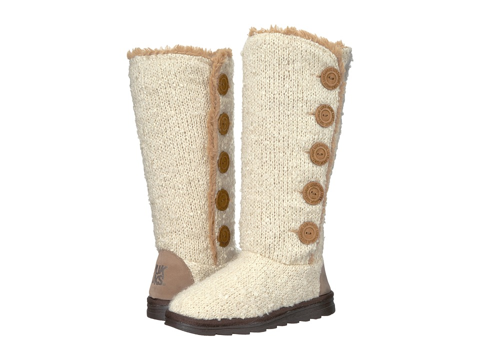 MUK LUKS - Jazlyn Boots (Vanilla) Women's Boots