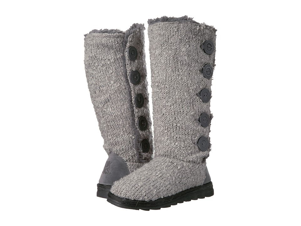 MUK LUKS - Jazlyn Boots (Grey) Women's Boots