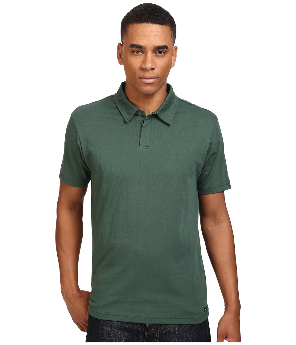 RVCA - Sure Thing II Polo (Sequoia Green) Men's Short Sleeve Knit