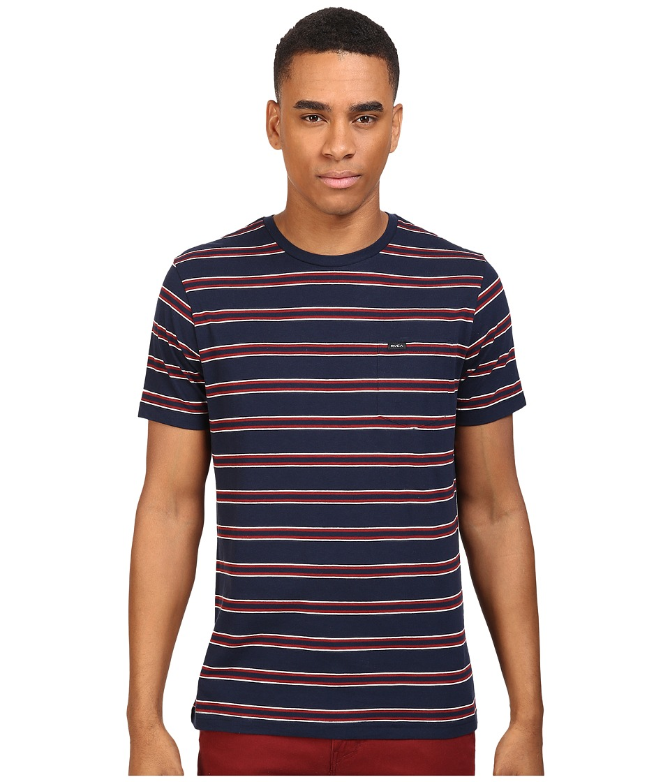 RVCA - Jolly Crew (Federal Blue) Men's Clothing