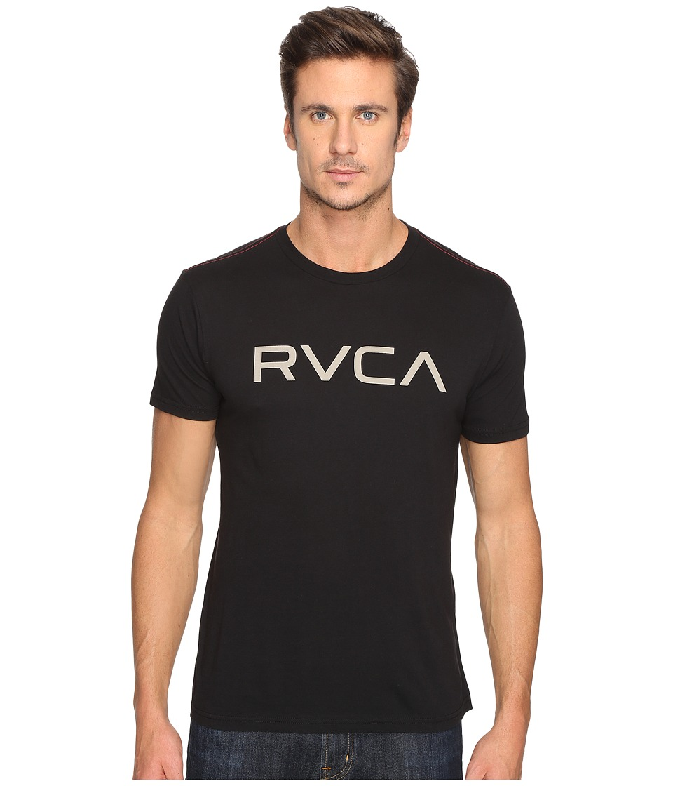 RVCA - Big Vintage Wash Tee (Black) Men's T Shirt