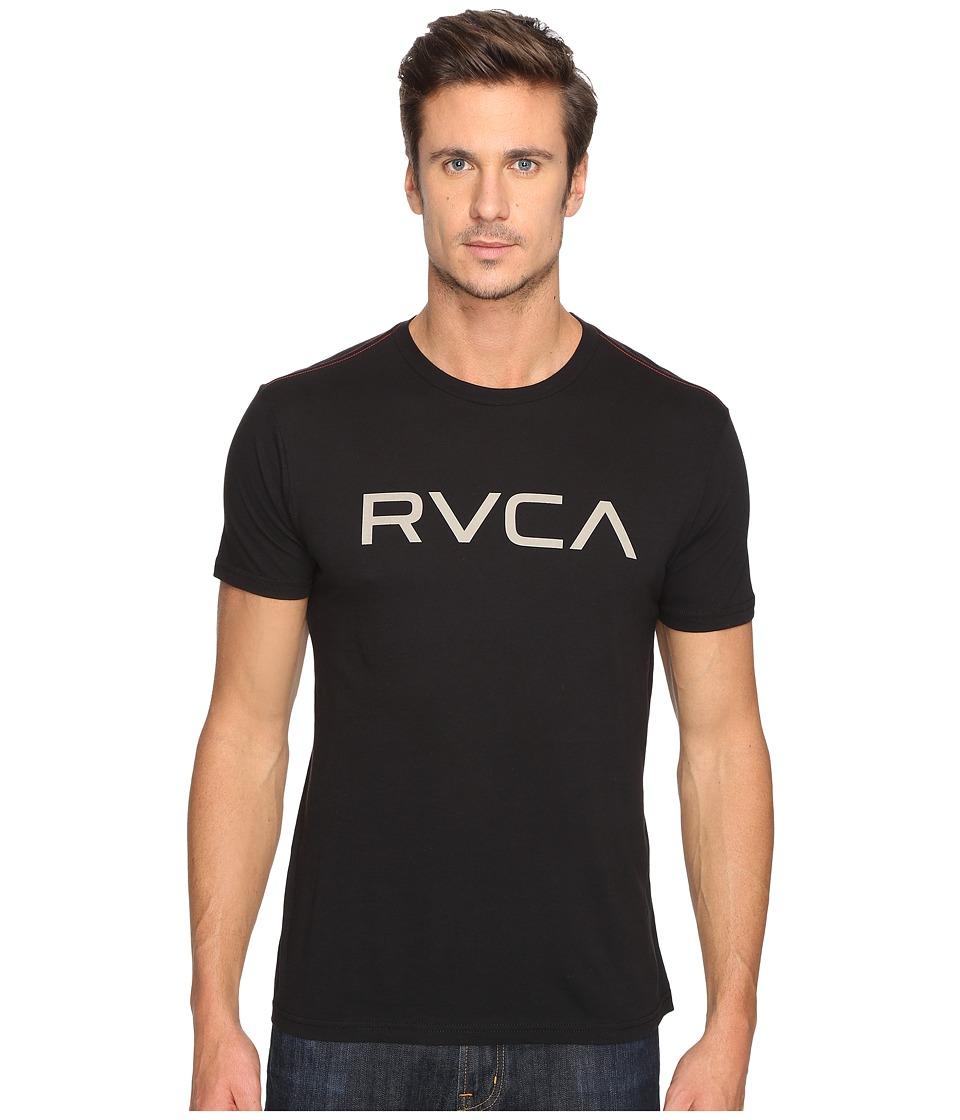 RVCA - Big Vintage Wash Tee (Black) Men's T Shirt