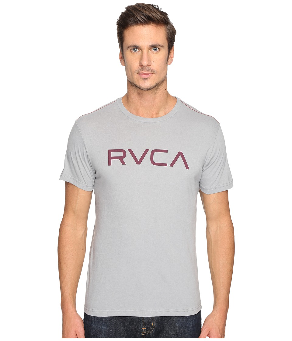 RVCA - Big Vintage Wash Tee (Monument) Men's T Shirt