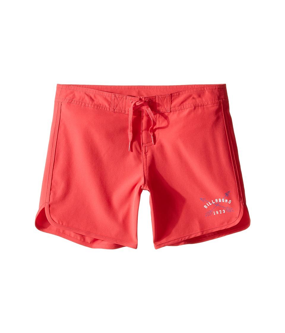 Billabong Kids - Sol Searcher 5 Fixed Boardshorts (Little Kids/Big Kids) (Wild Berry) Girl's Swimwear