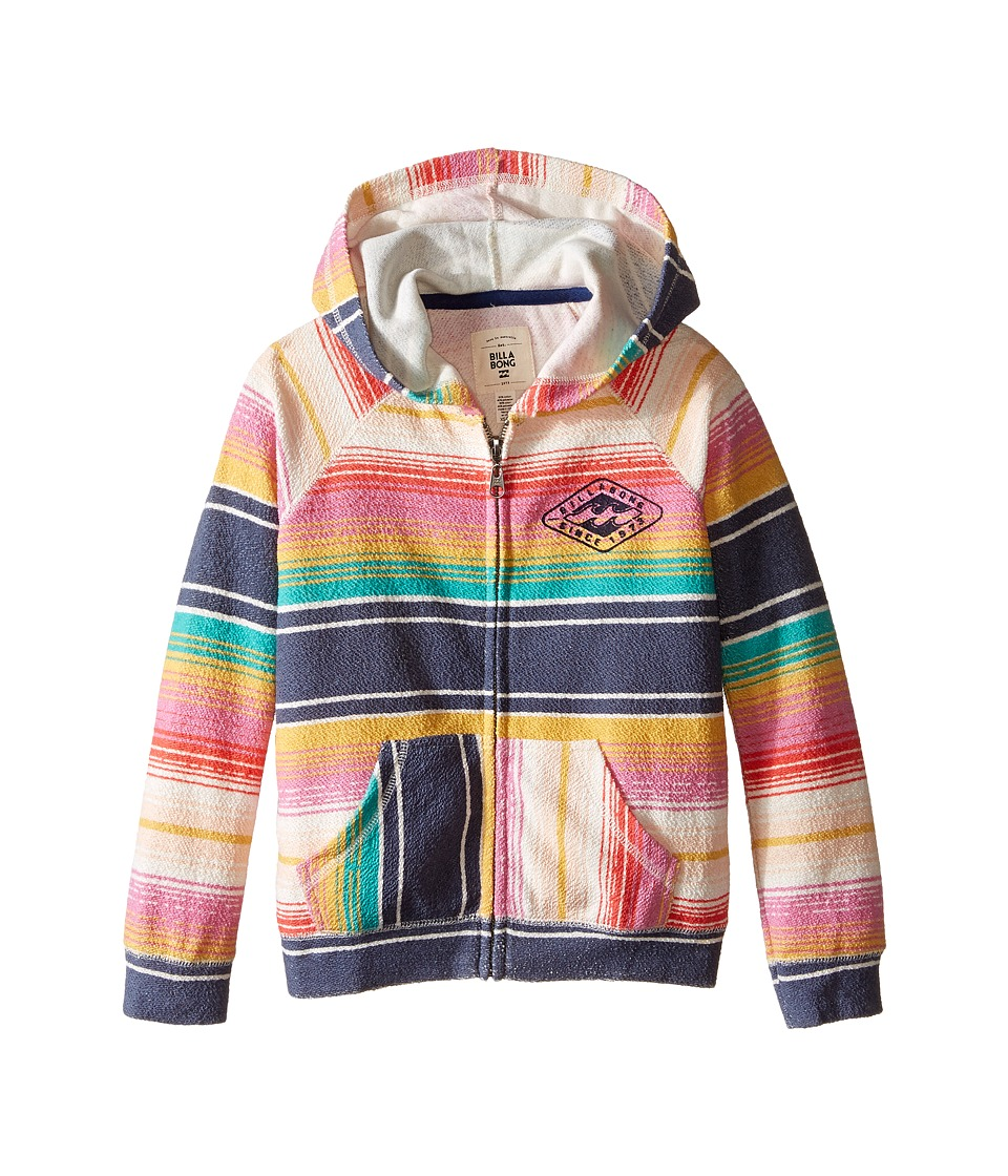 Billabong Kids - Sure Thing Hoodie (Little Kids/Big Kids) (Multi) Girl's Sweatshirt