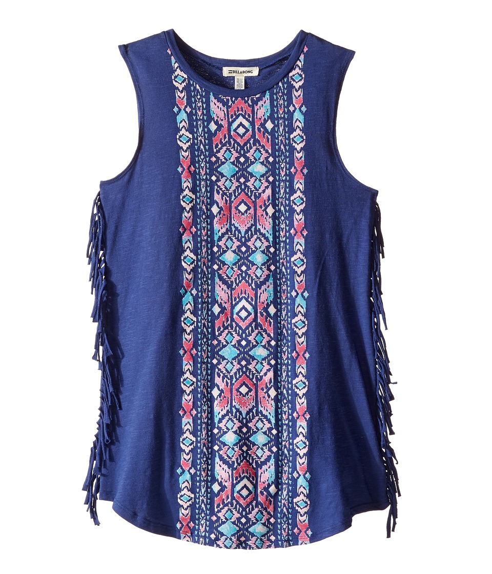 Billabong Kids - Salty Tides Dress (Little Kids/Big Kids) (Harbor Blue) Girl's Dress