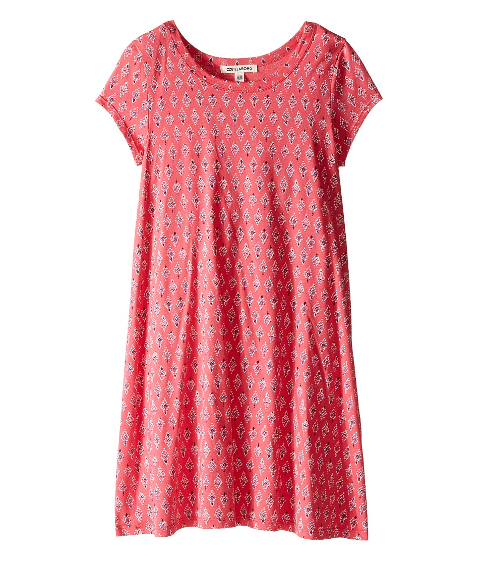 Billabong Kids - Sea the Love Dress (Little Kids/Big Kids) (Wild Berry) Girl's Dress