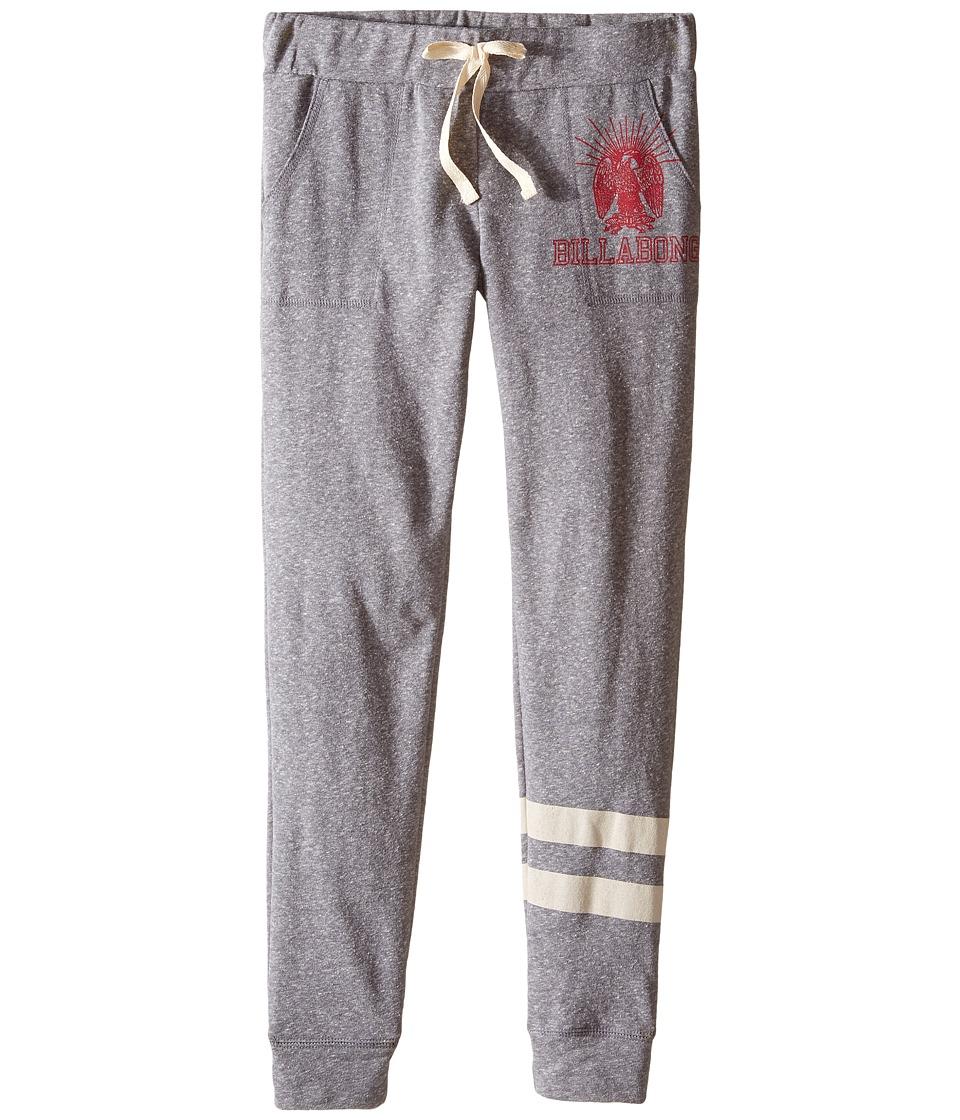 Billabong Kids - Campin Around Pants (Little Kids/Big Kids) (Dark Athletic Grey) Girl's Casual Pants