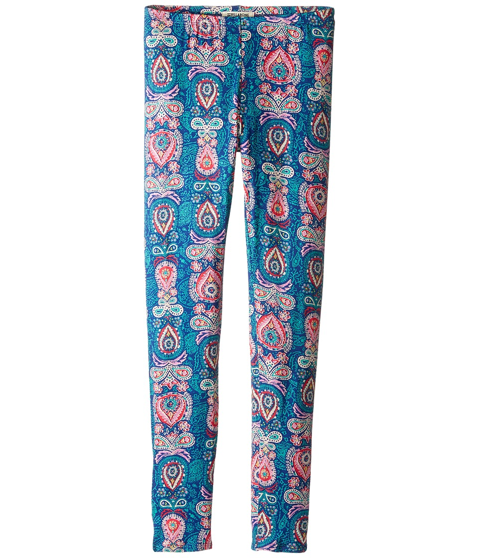 Billabong Kids - Walk Show Leggings (Little Kids/Big Kids) (Harbor Blue) Girl's Casual Pants