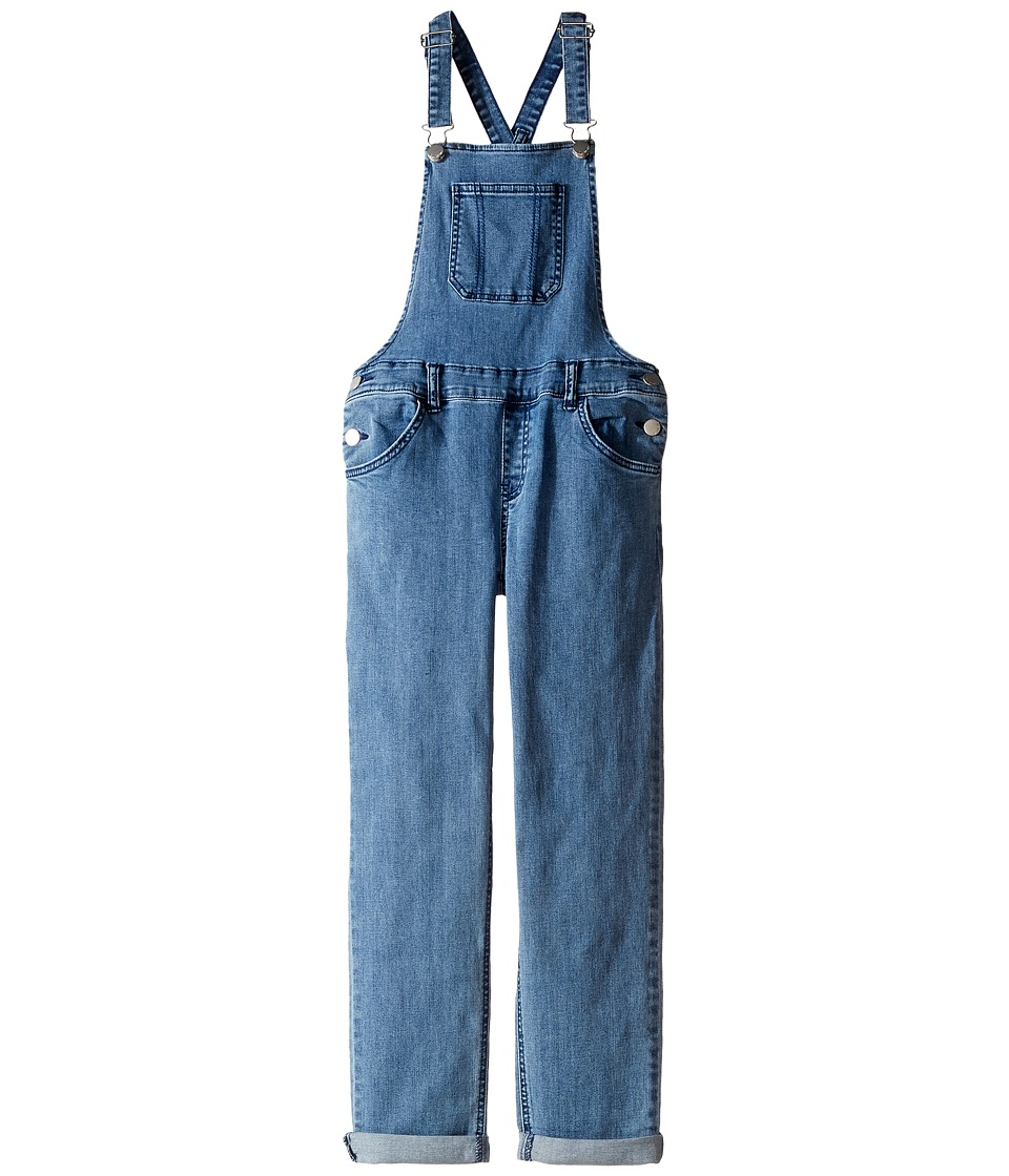 Billabong Kids - Now and Again Overalls (Little Kids/Big Kids) (Vintage Indigo) Girl's Overalls One Piece
