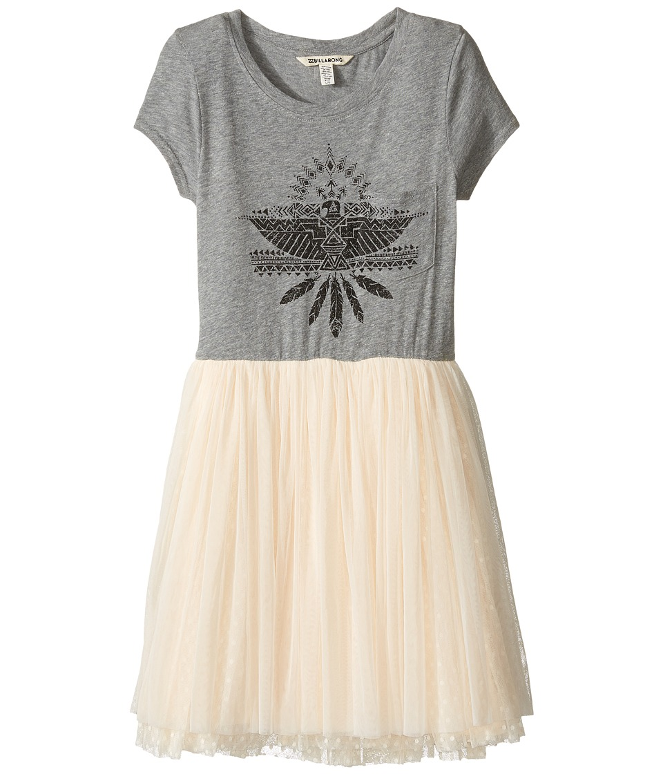 Billabong Kids - Sunkissed Nights Dress (Little Kids/Big Kids) (Dark Athletic Grey) Girl's Dress