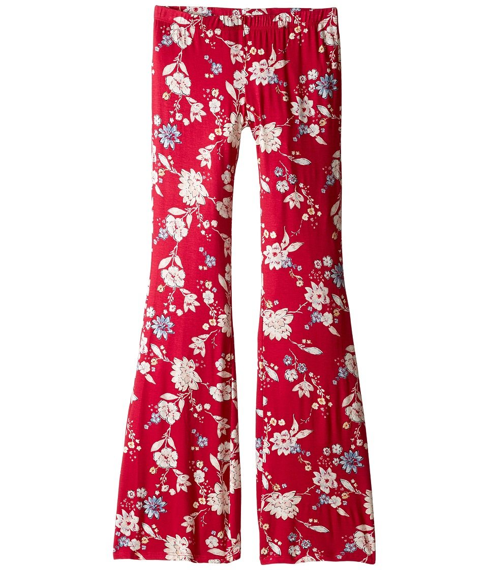 Billabong Kids - Setting Free Pants (Little Kids/Big Kids) (Cherry Lips) Girl's Casual Pants