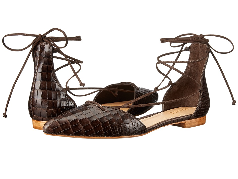 Schutz - Neida (Hot Coffee) Women's Sandals