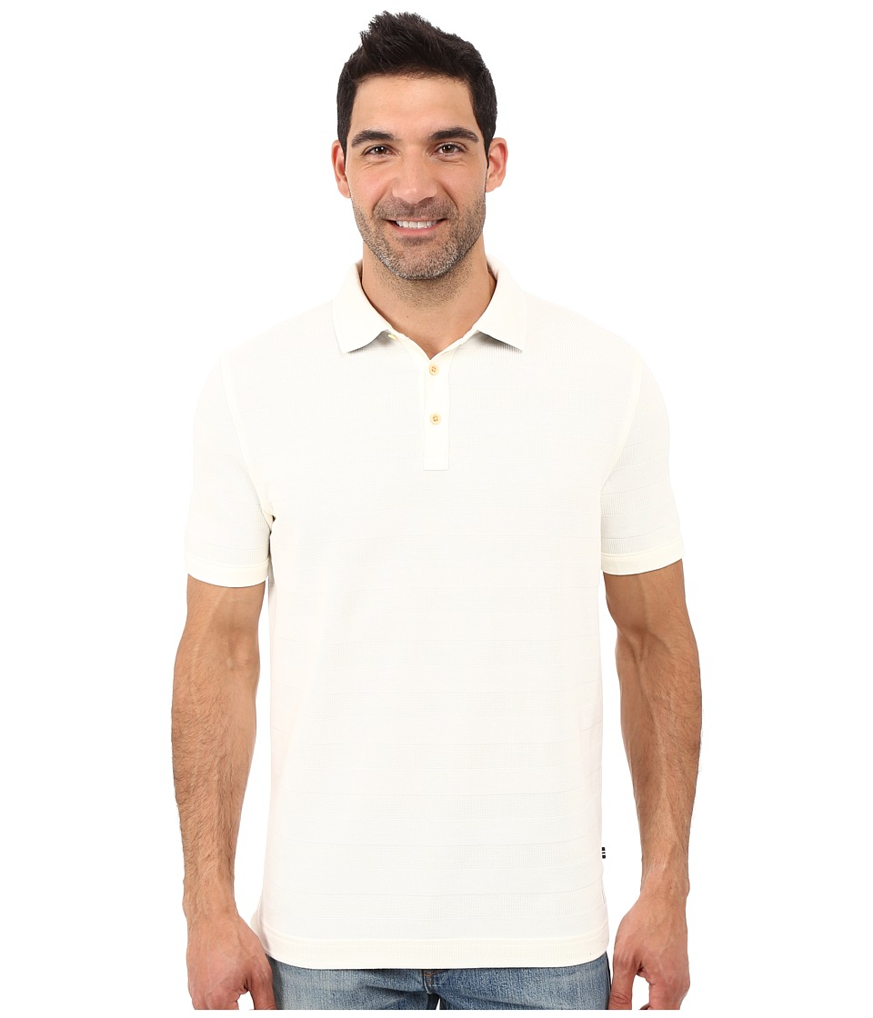 Nautica - Short Sleeve The Voyager Deck Polo Shirt (Marshmallow) Men's Short Sleeve Pullover