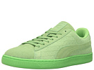 Suede On Suede (Green Flash/White)