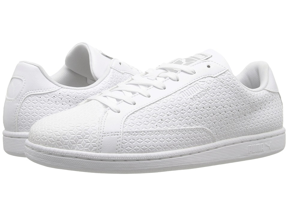 PUMA - Match Emboss (White) Men's Shoes