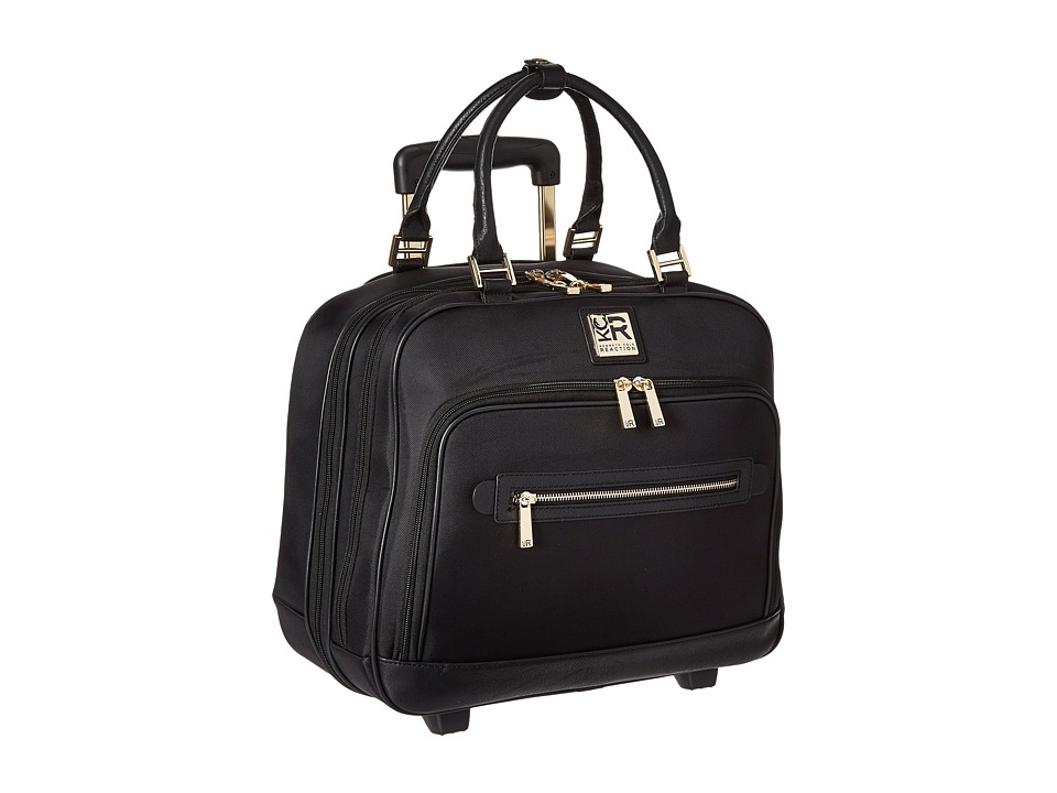 Kenneth Cole Reaction - Give Me A Call - Nylon Wheeled Tote (Black) Pullman Luggage