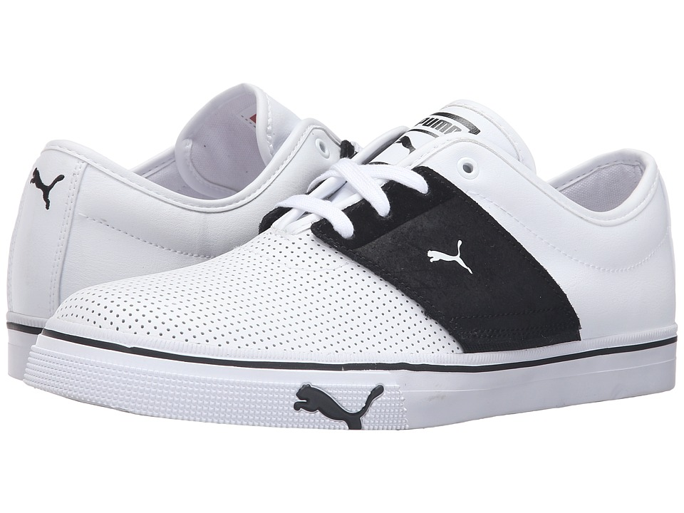 PUMA - El Ace TL (White/Black) Men's Shoes