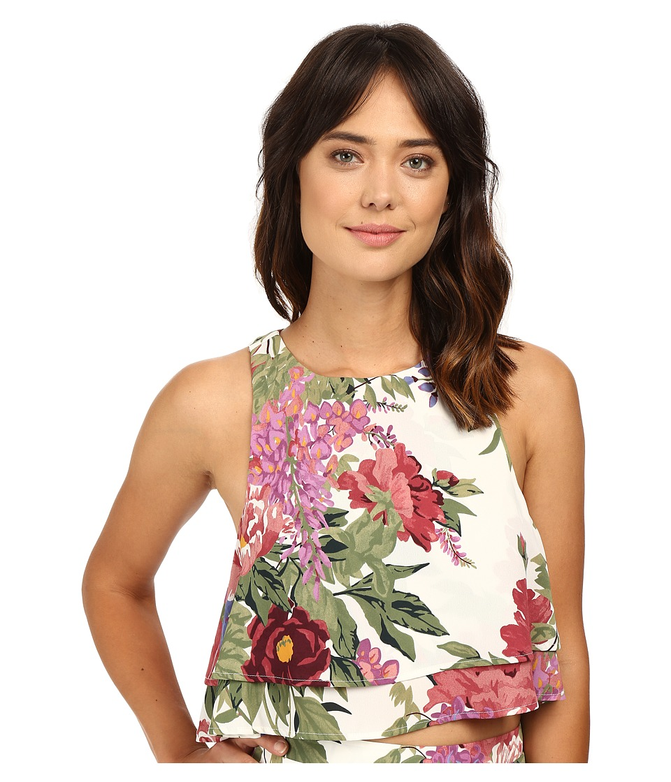 Show Me Your Mumu - King Crop Top (Duchess Darling) Women's Clothing