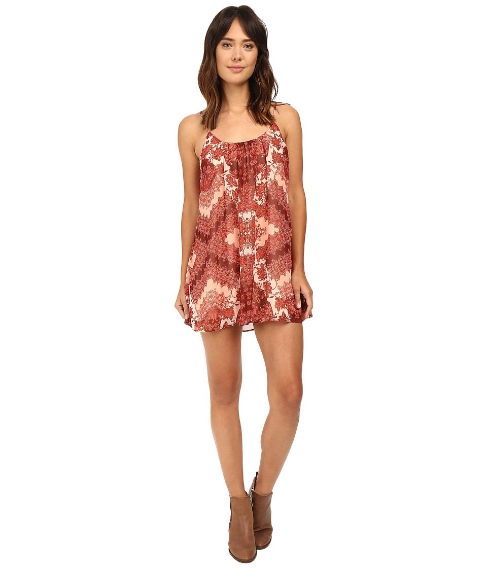 Show Me Your Mumu - Trapeze Mini Dress (Happy Henna) Women's Dress