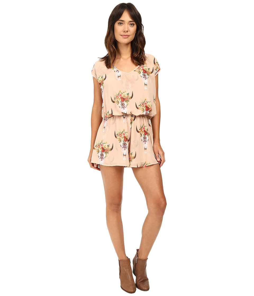 Show Me Your Mumu - Rowdy Romper (Frida Bullhead) Women's Jumpsuit & Rompers One Piece