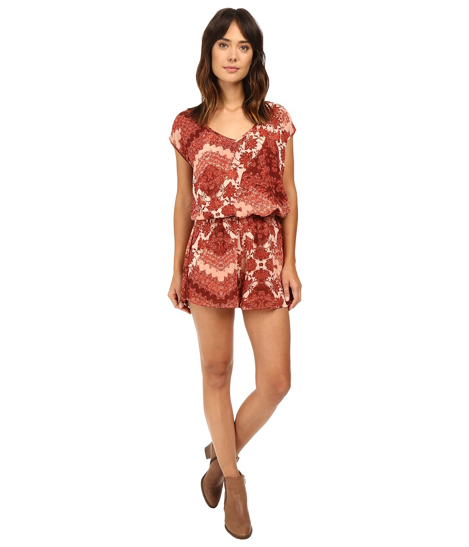 Show Me Your Mumu - Rowdy Romper (Happy Henna) Women's Jumpsuit & Rompers One Piece