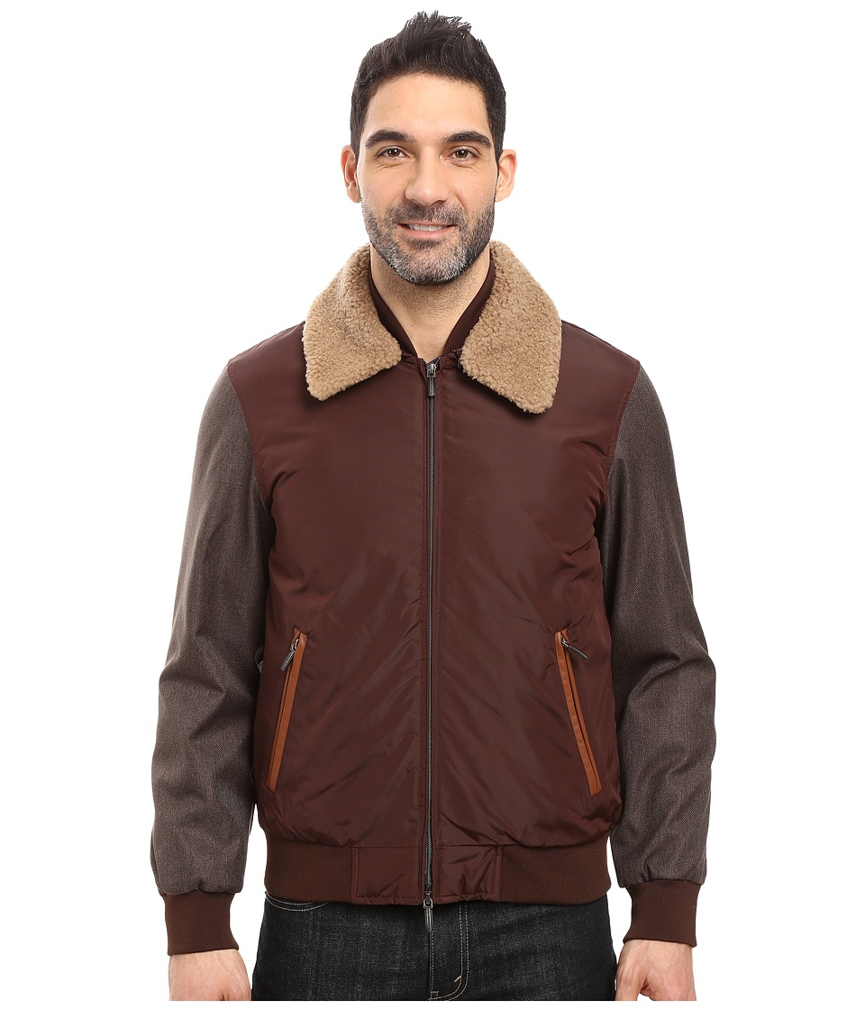 Rainforest - Saxman Varsity Jacket (Burgundy) Men's Coat