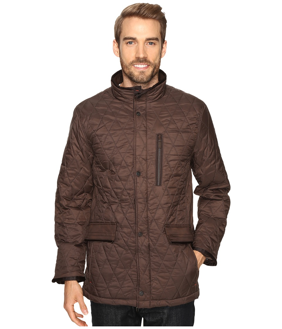 Rainforest - Quilted Walking Jacket (Clay) Men's Coat