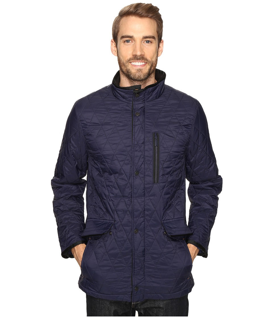 Rainforest - Quilted Walking Jacket (Ink) Men's Coat