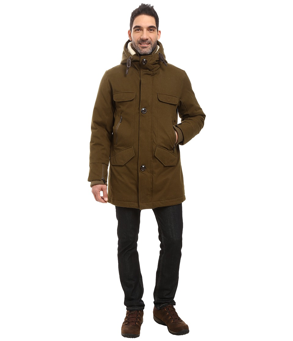 Rainforest - Selawik Fishtail Parka (Military) Men's Coat