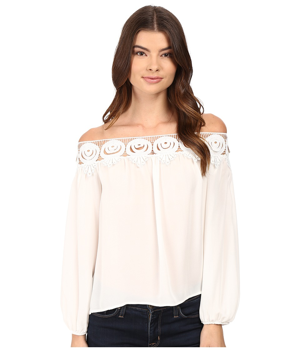 Stone Cold Fox Kyoko Blouse (White) Women's Blouse