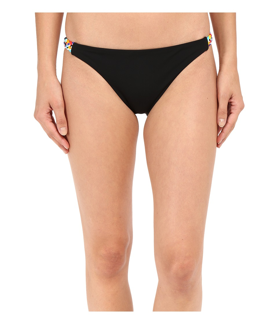 Red Carter Braided Side Classic Bottoms (Black) Women
