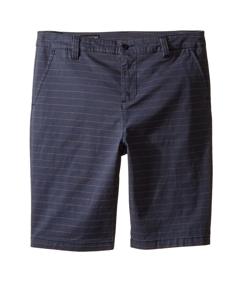 O'Neill Kids - Contact Stretch Stripe Shorts (Big Kids) (Navy) Boy's Shorts