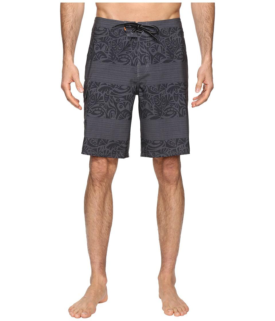 Quiksilver Waterman - Parapa (Dark Shadow) Men's Swimwear