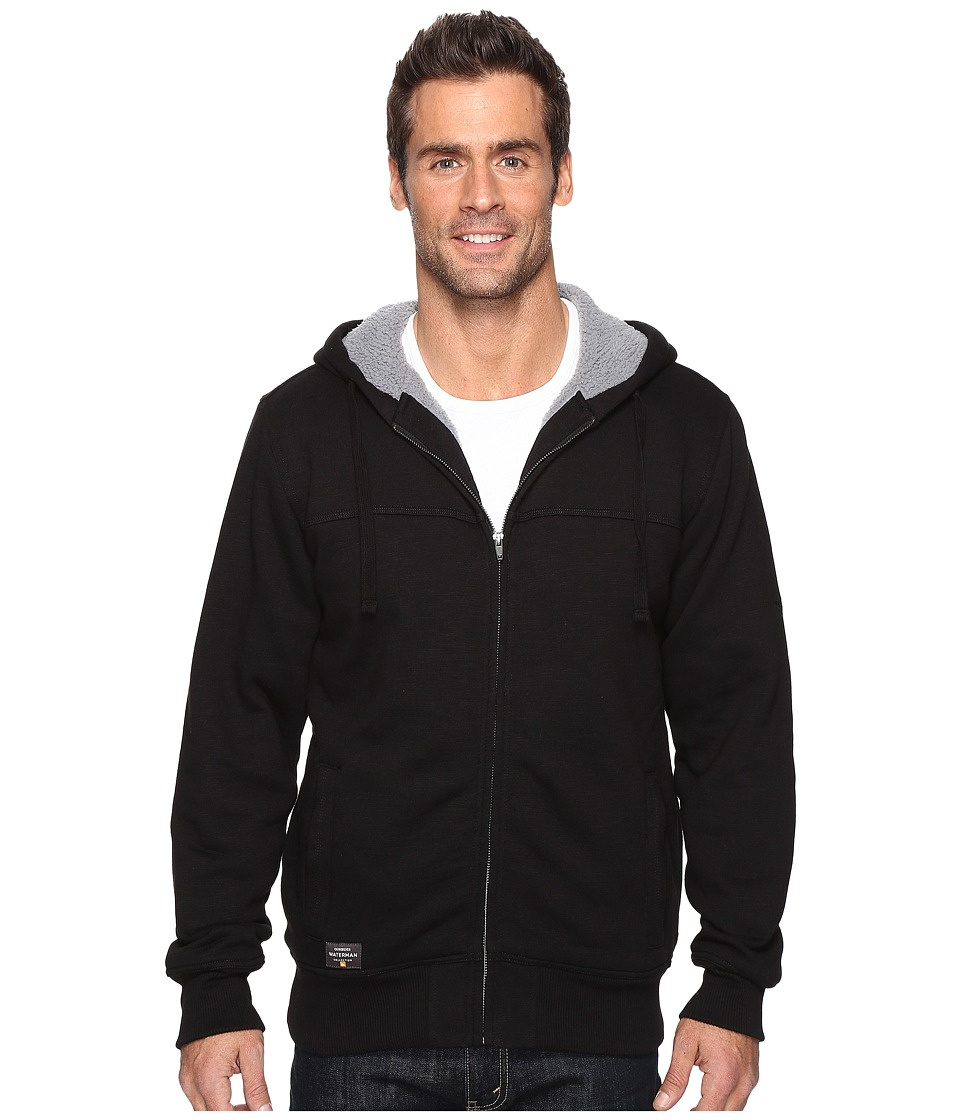 Quiksilver Waterman - Hinterlands (Black) Men's Sweatshirt