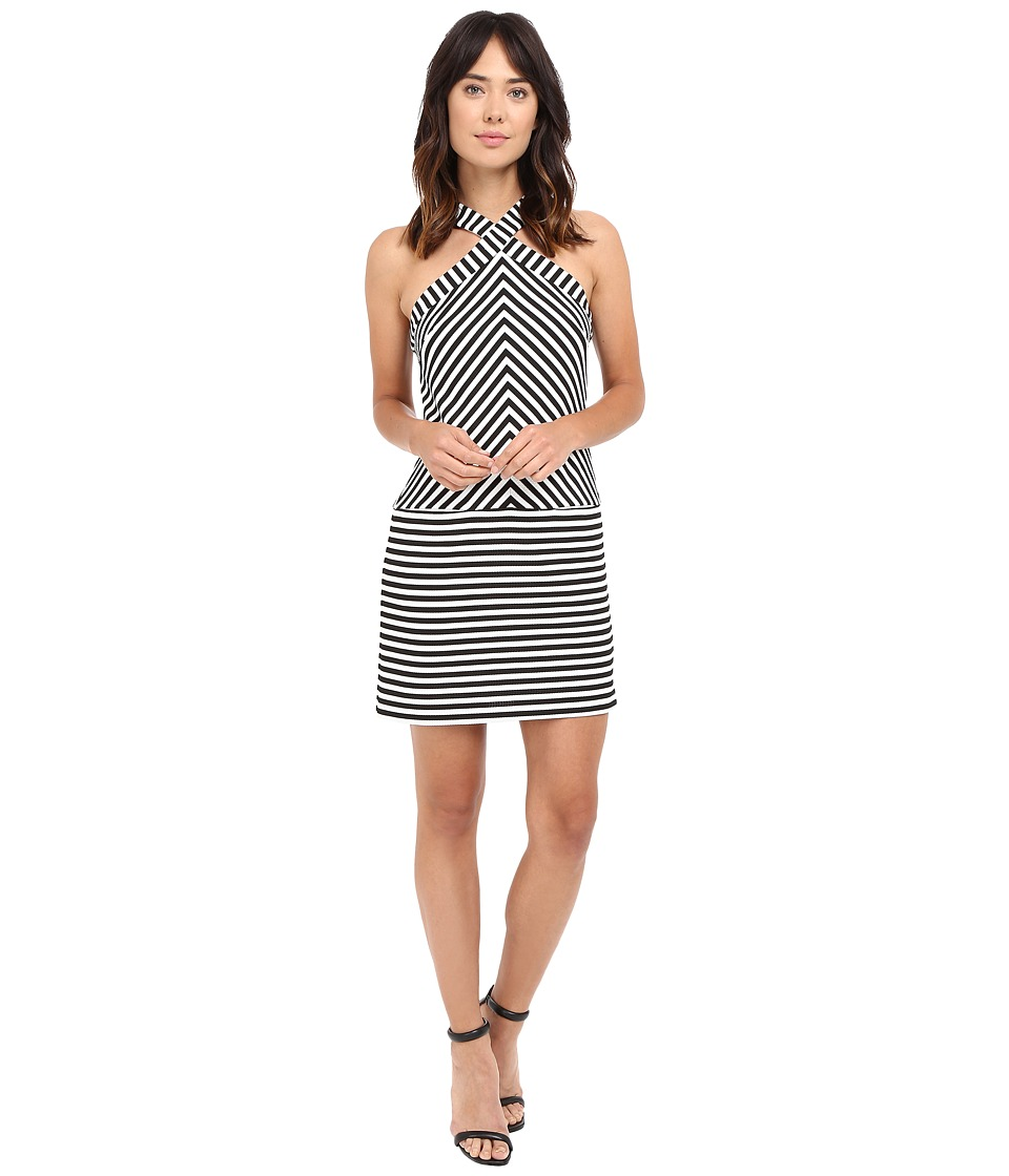 Trina Turk Alicina Dress (Black/White) Women
