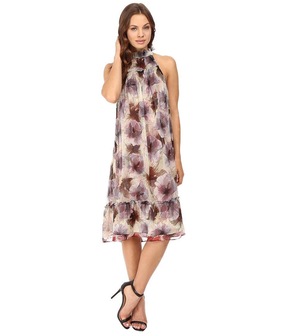 Stone Cold Fox Gardenia Dress (Green Dahlia Print) Women