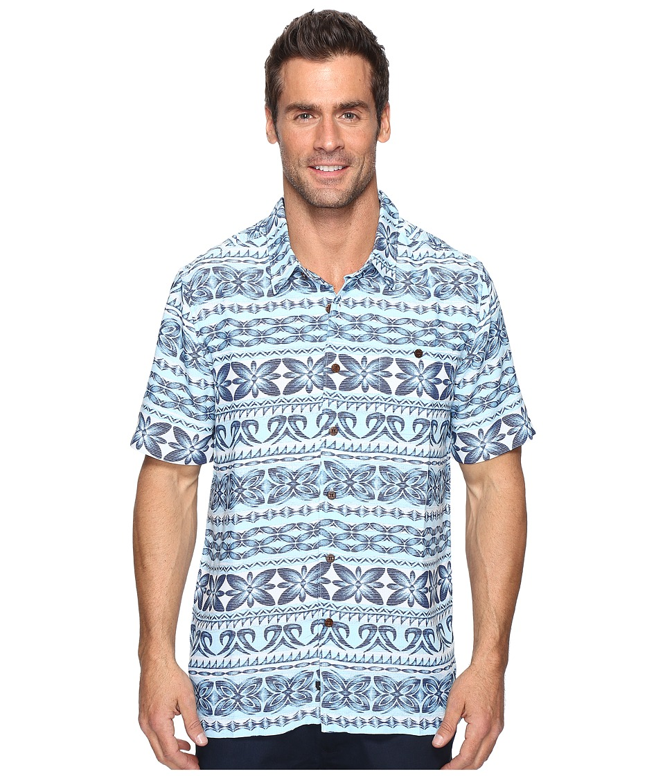 Quiksilver Waterman - Lono (Plein Air) Men's Short Sleeve Button Up
