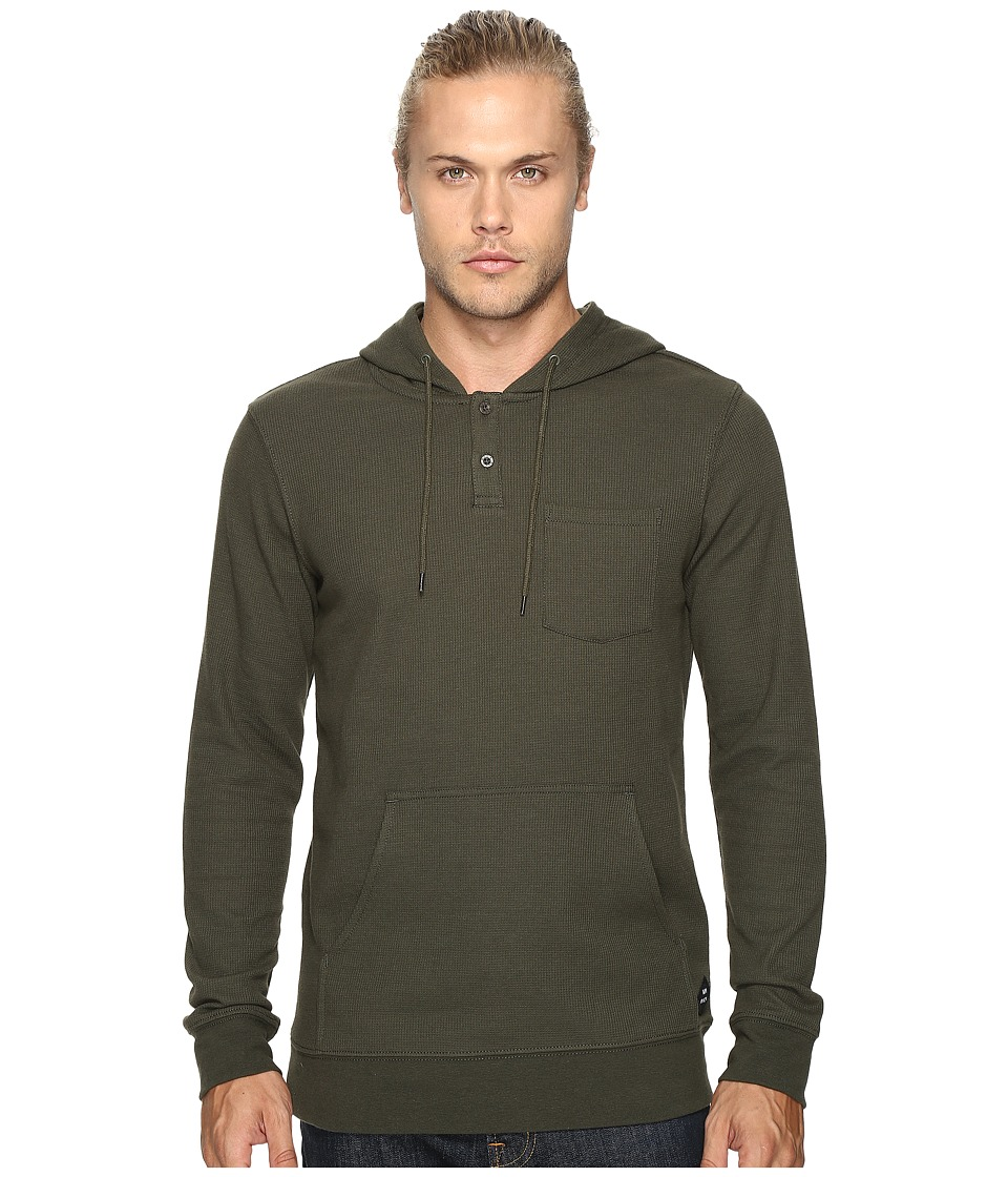 RVCA - Thomas Hoodie 2 (Forest) Men's Sweatshirt