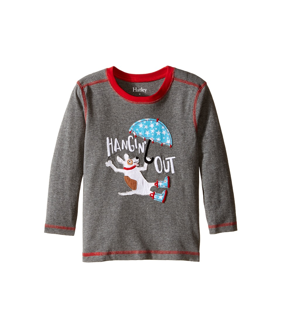 Hatley Kids - Hangin Out Tee (Toddler/Little Kids/Big Kids) (Grey) Boy's T Shirt