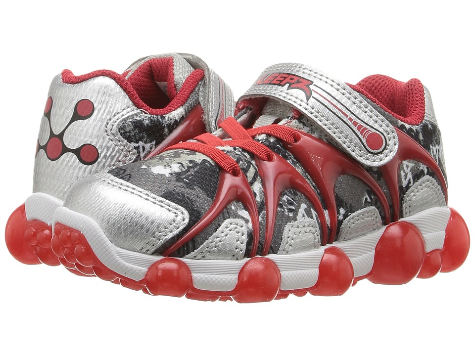 Stride Rite - Leepz (Toddler/Little Kid) (Red/Silver) Boy's Shoes