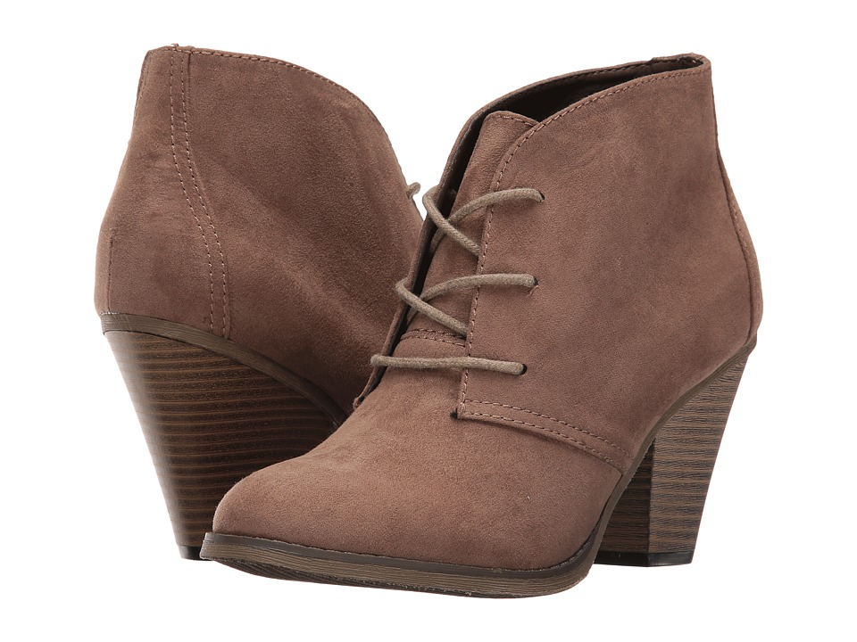 DOLCE by Mojo Moxy - Dusty (Taupe) Women's Lace-up Boots