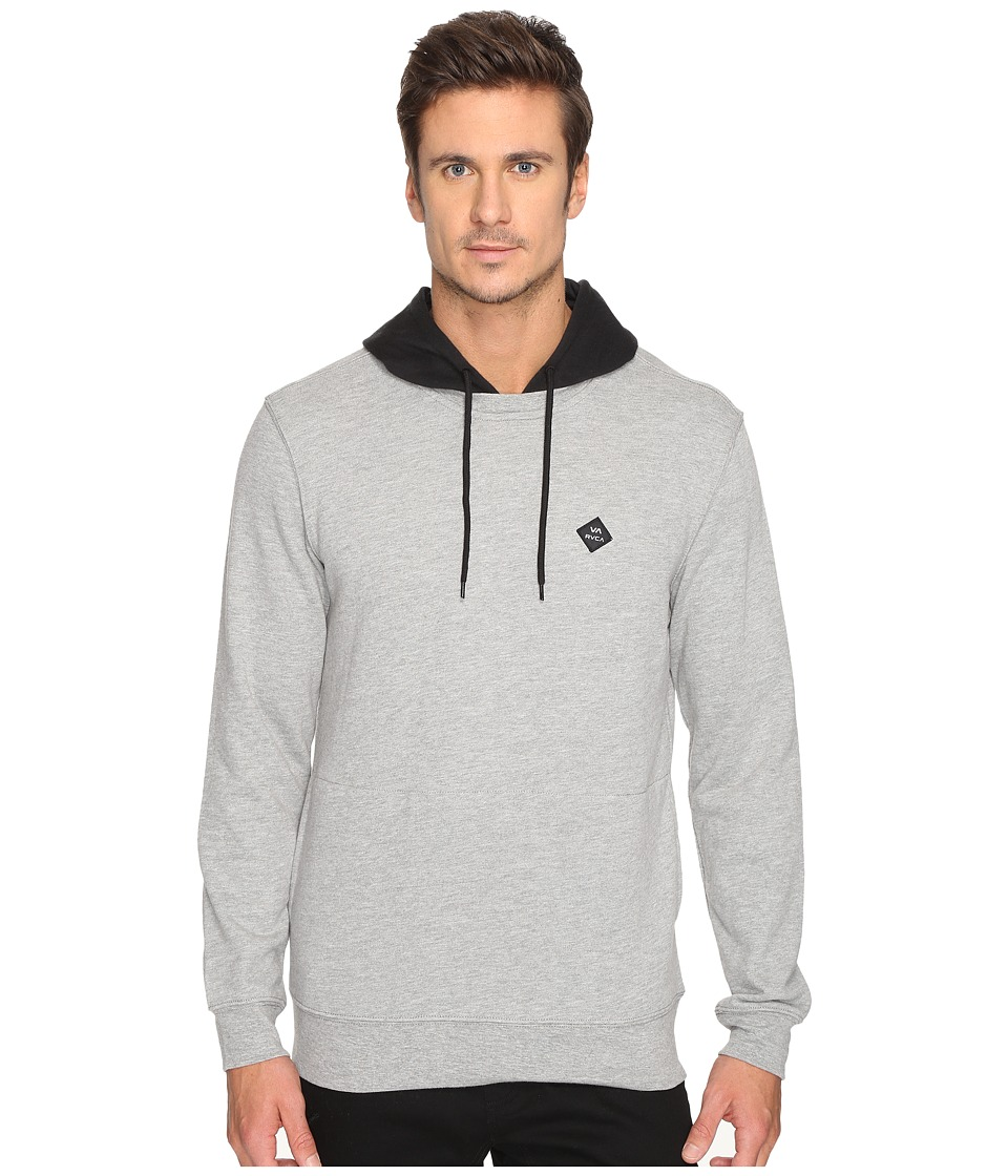RVCA - Double Down Pullover (Athletic Heather) Men's Fleece