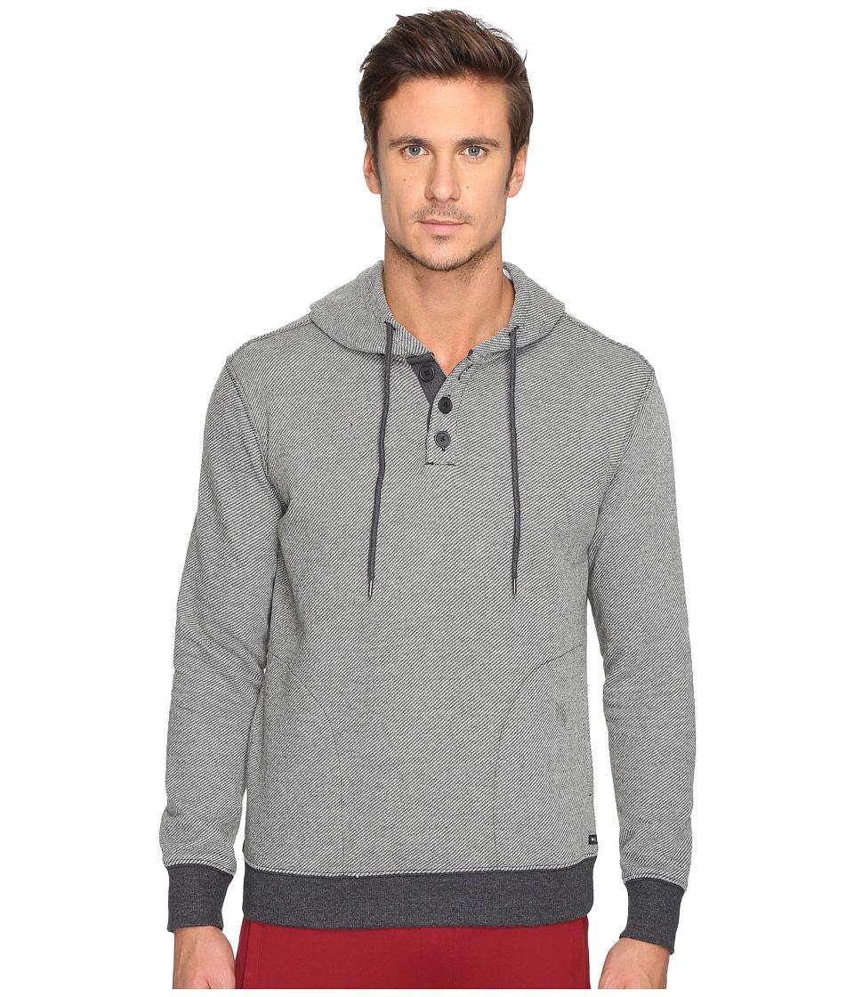 RVCA - Capo Twill Fleece (Black) Men's Fleece
