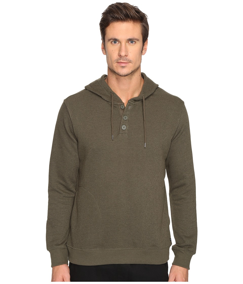 RVCA - Capo Twill Fleece (Forest) Men's Fleece