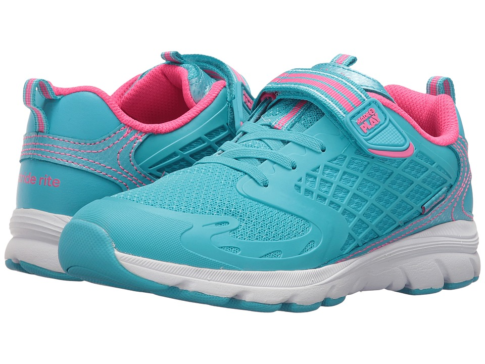Stride Rite - Made 2 Play Cannan (Little Kid) (Turquoise) Girl's Shoes