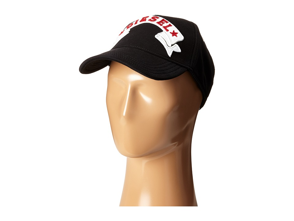 Diesel - Carastyn Hat (Black) Baseball Caps