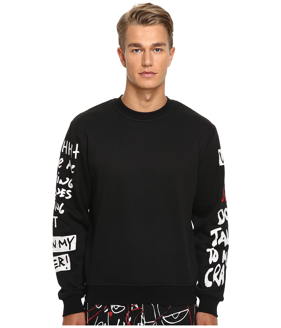 Haculla - Shizo Crew Neck (Black) Men's Sweatshirt