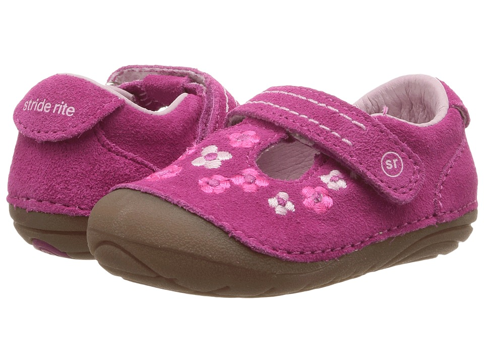 Stride Rite - SM Tonia (Infant/Toddler) (Pink) Girl's Shoes