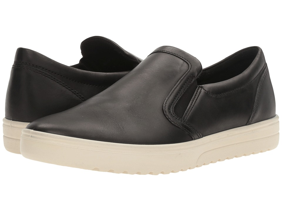 ECCO Fara Slip-On Sneaker (Black) Women